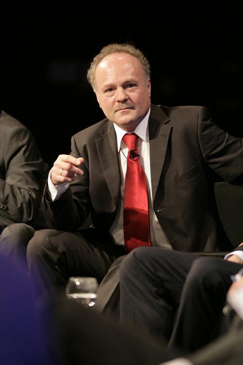 Peter Boudgoust (ARD) bei den Münchener Medienrtagen