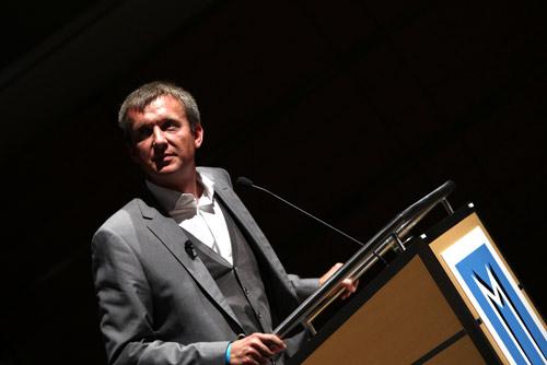 Jochen Wegner bei den Medientagen München 2010