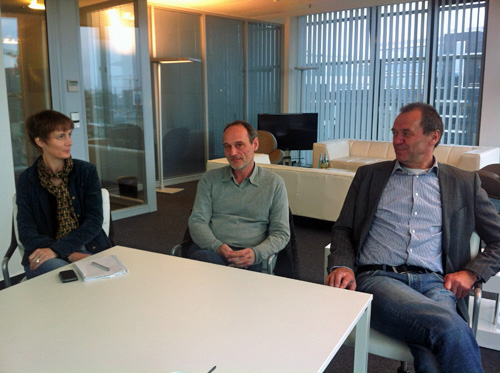 dapd soll Vollagentur bleiben — Der neue Investor Ulrich Ende im Gespräch; Foto: Vera Linß
