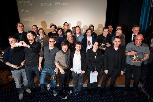 Der Deutsche Webvideopreis (Foto: Flickr / Webvideotage)